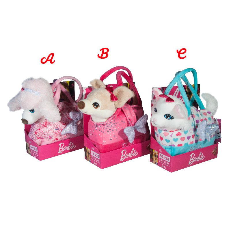 Lelly Peluche Online Store | Peluche barbie pets fashion bag & pets