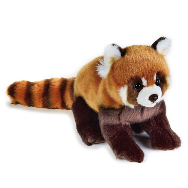 Lelly Peluche Vendita Online peluche Venturelli | peluche panda rosso National Geographic
