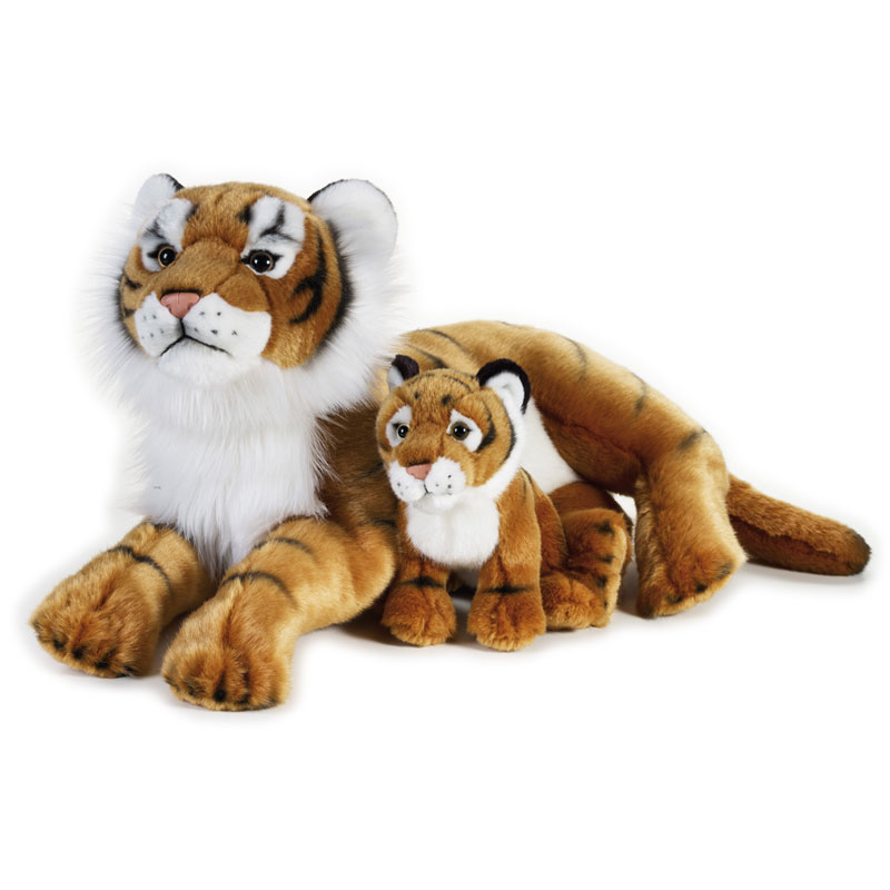 Lelly Peluche Online Store | peluche tigre con baby National Geographic