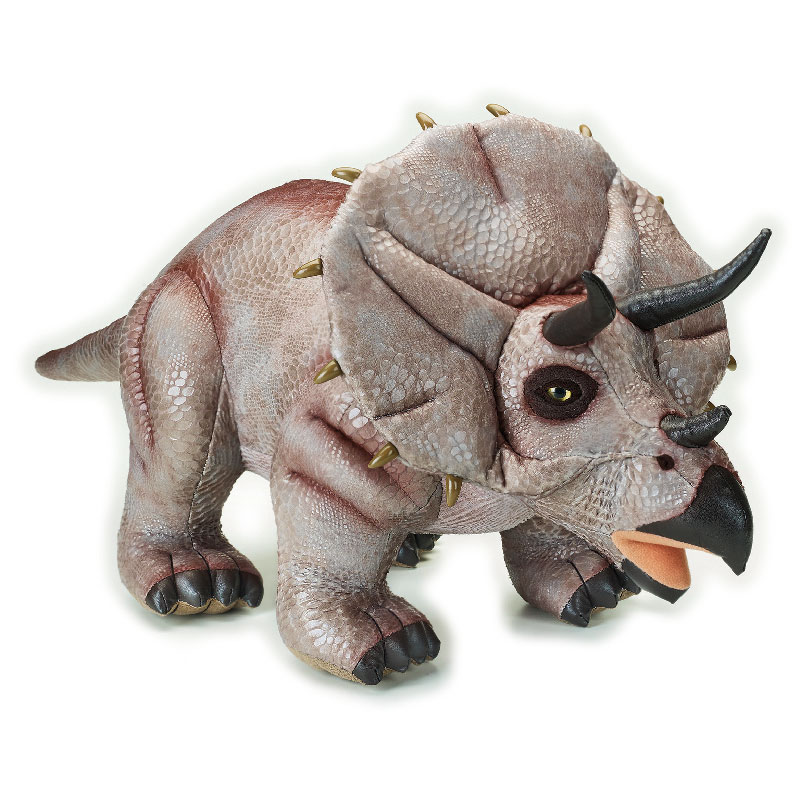Lelly Peluche Vendita Online peluche Venturelli | peluche Triceratopo grande National Geographic