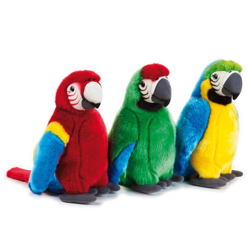 Lelly Peluche Vendita Online peluche Venturelli | peluche pappagalli tropicali National Geographic