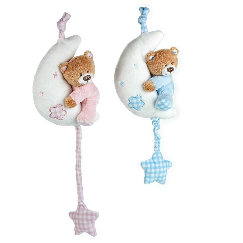 Lelly Peluche Online Store | Peluche Baby Orsetto carillon luna