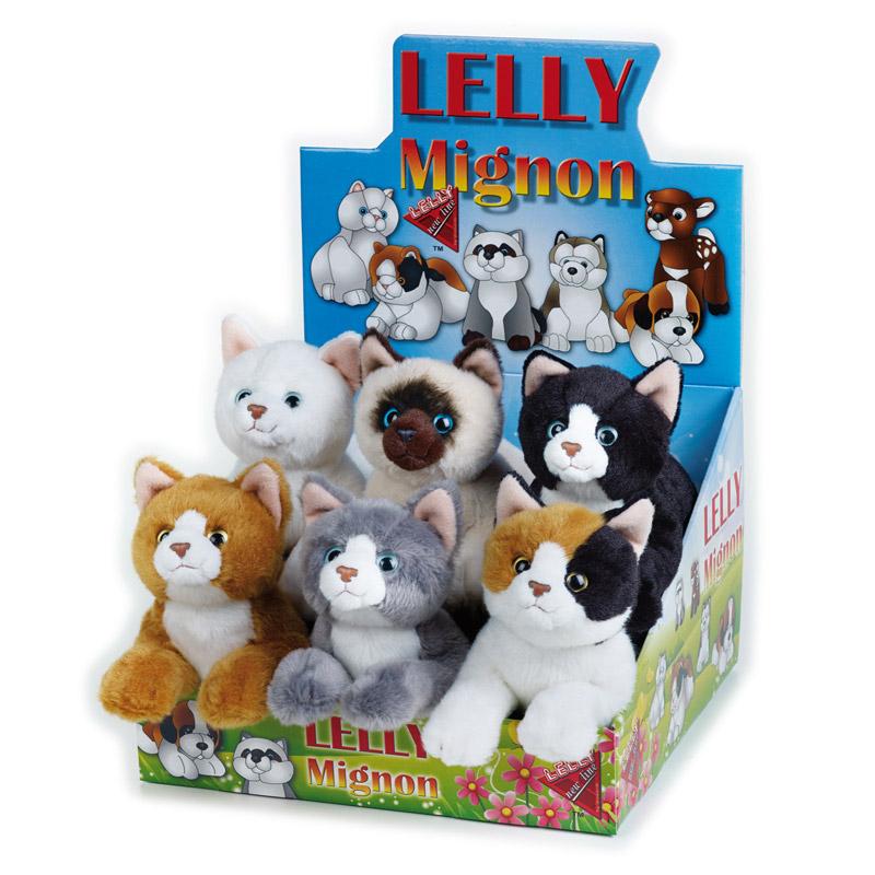 Lelly Peluche Vendita Online peluche Venturelli | Lelly mignon gatti stesi