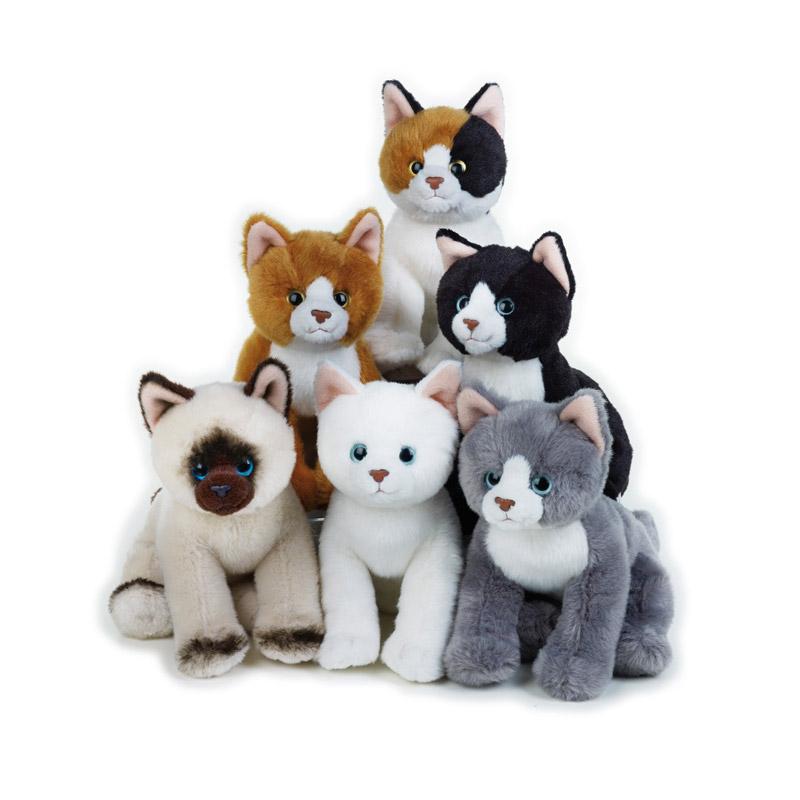 Lelly Peluche Vendita Online peluche Venturelli | Lelly mignon gatti seduti