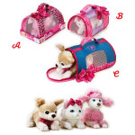 Lelly Peluche Vendita Online peluche Venturelli |Peluche barbie pets carry bag