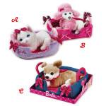 Lelly Peluche Vendita Online peluche Venturelli |Peluche Barbie pets con cuccia