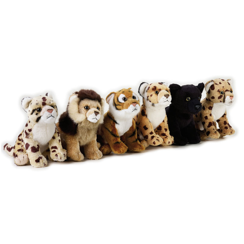 Lelly Peluche Vendita Online peluche Venturelli | Display Baby Felini Big Cats National Geographic