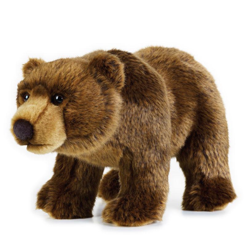 Lelly Peluche Vendita Online peluche Venturelli | peluche orso grizzly National Geographic