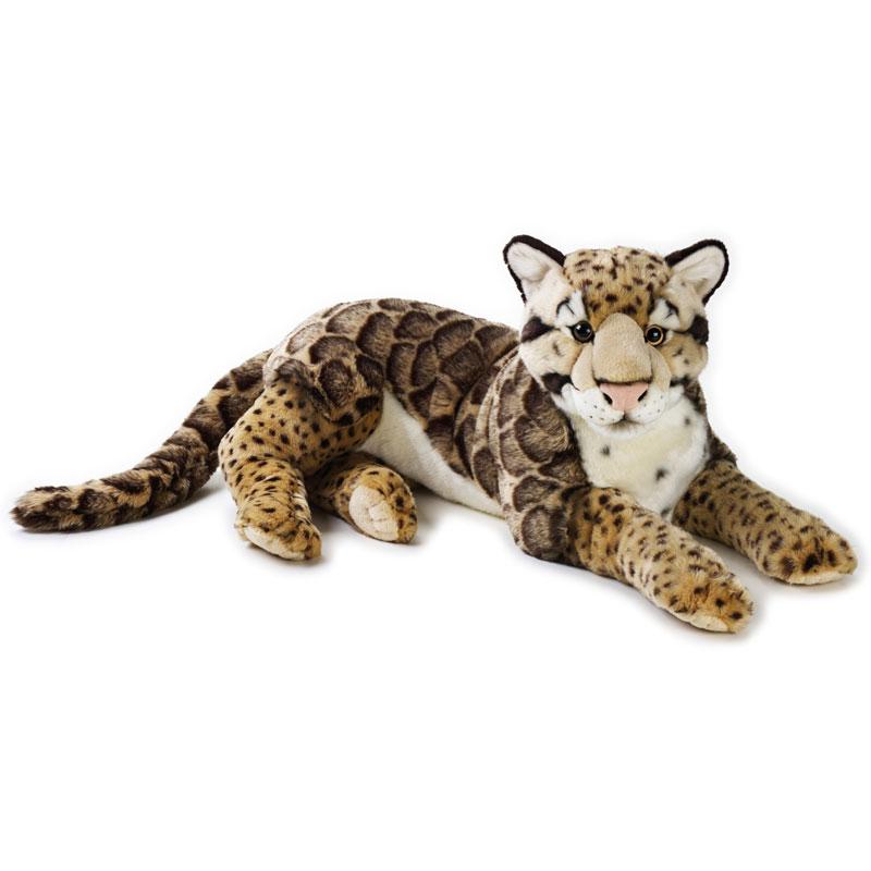 Lelly Peluche Vendita Online peluche Venturelli | peluche Leopardo nebuloso grande National Geographic