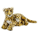 Lelly Peluche Online Store | peluche ghepardo con baby National Geographic