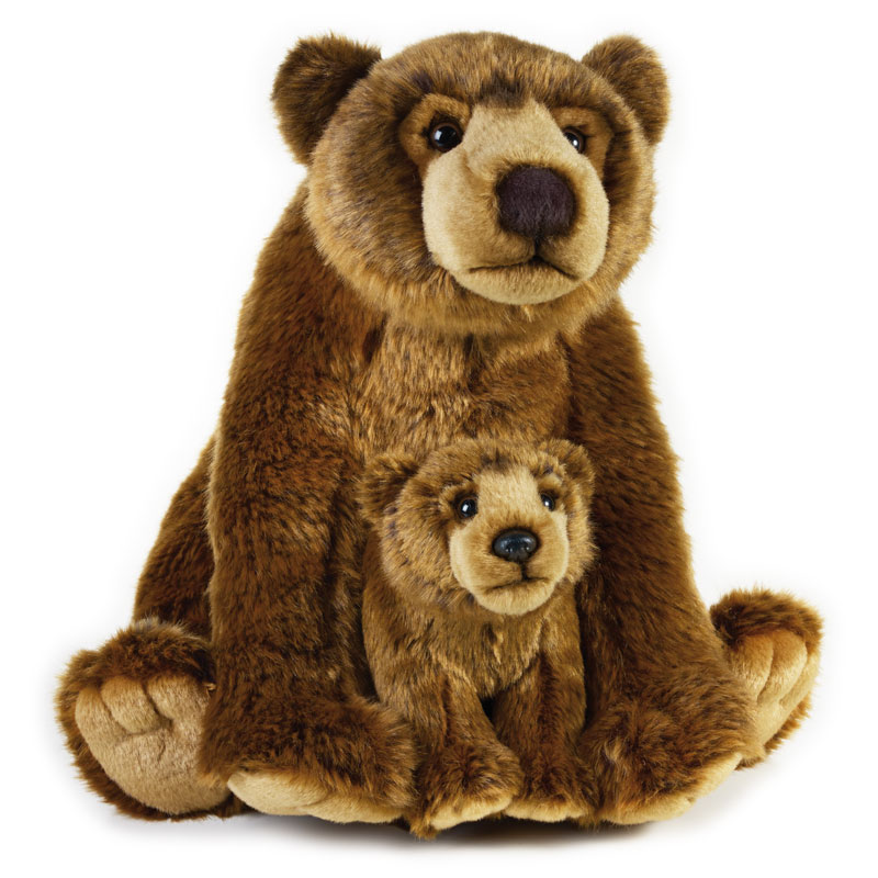 Lelly Peluche Vendita Online peluche Venturelli | peluche orso grizzly National Geographic