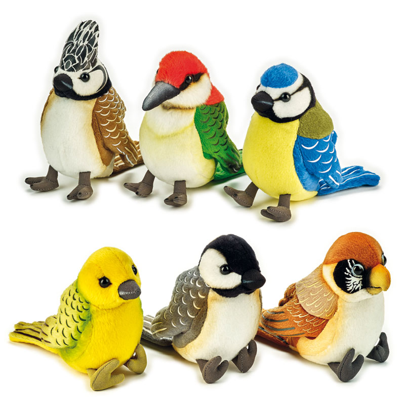Lelly Peluche Vendita Online peluche Venturelli | Colourful birds National Geographic
