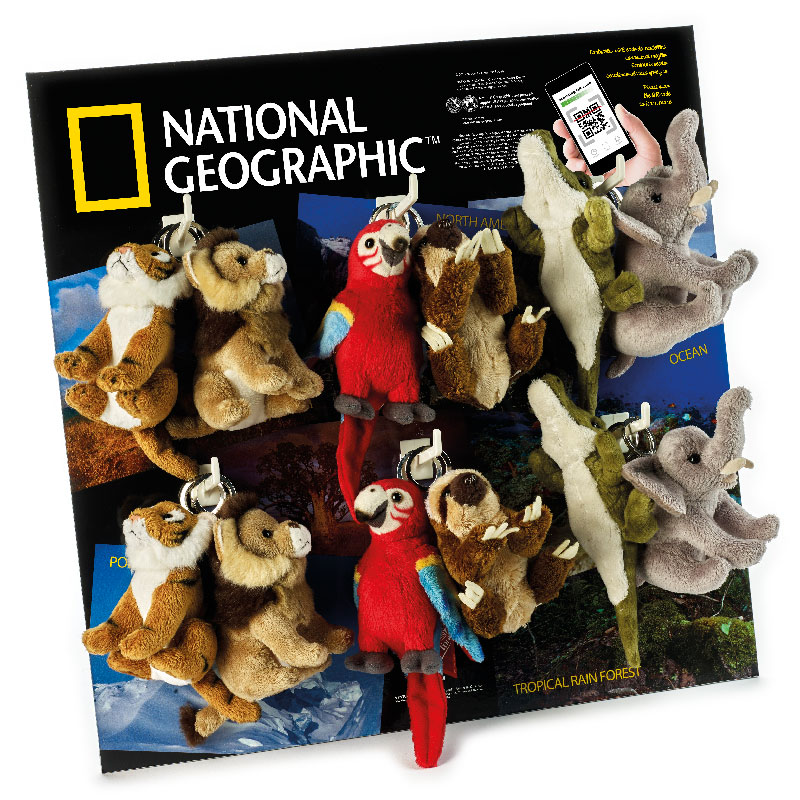 Lelly Peluche Vendita Online peluche Venturelli | peluche portachiavi National Geographic