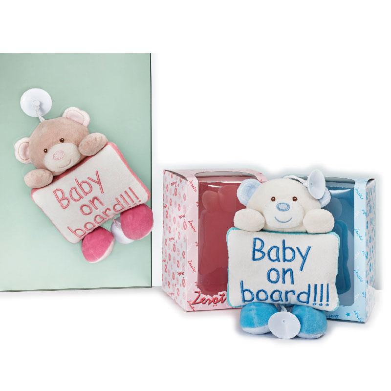 Lelly Peluche Online Store | Peluche Zerotre Baby on Board