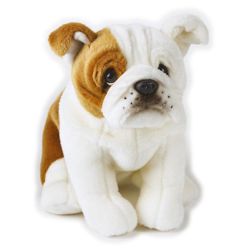 Lelly Peluche Online Store | Peluche Bull Dog Ringhio seduto