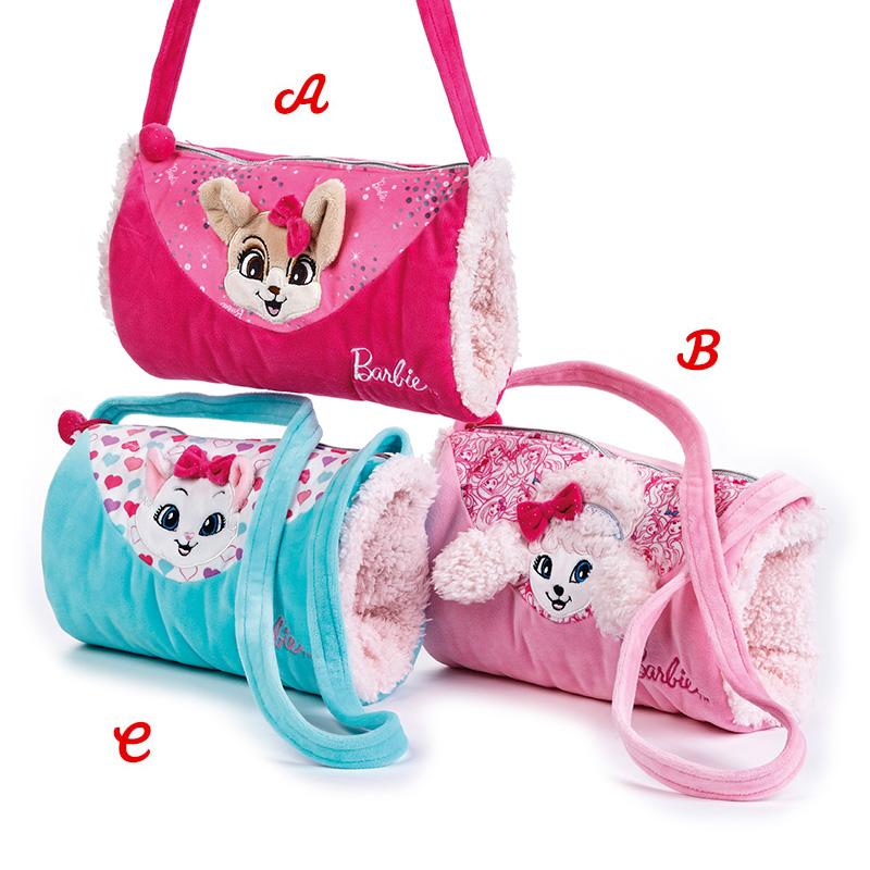 Lelly Peluche Online Store | Peluche Barbie pets Borsa Manicotto