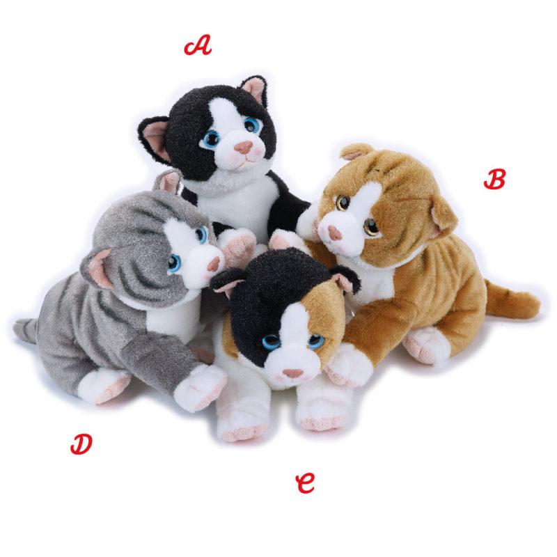 Lelly Peluche Online Store | Peluche Remì gatto accucciato Lelly