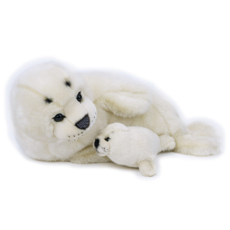 Lelly Peluche Online Store | peluche Foca con baby National Geographic