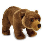 Lelly Peluche Online Store | Peluche Orso Grizzly National Geographic