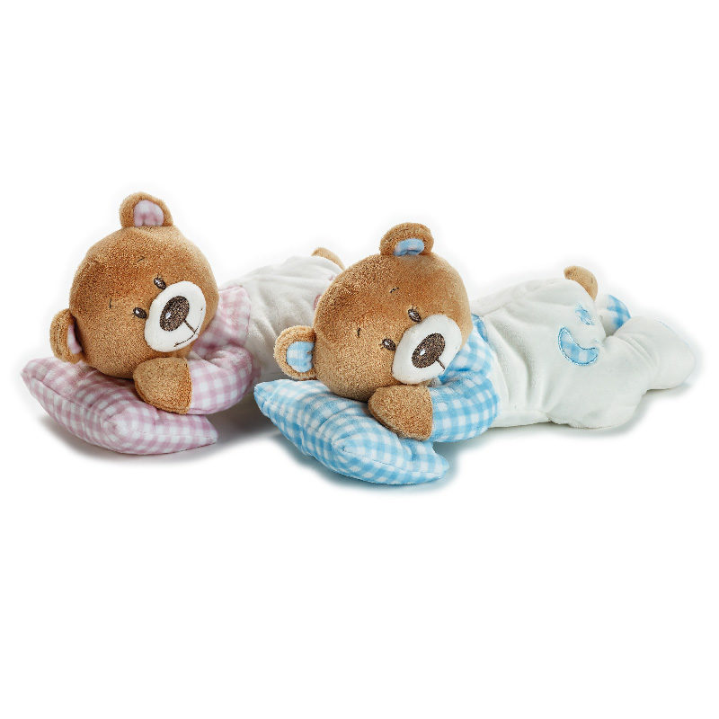 Lelly Peluche Online Store | Peluche Baby Orsetto con cuscino