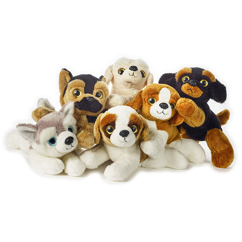 Lelly Peluche Online Store | Peluche display Lelly Furbetti Cani