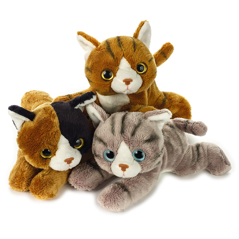 Lelly Peluche Online Store | Peluche display Lelly Furbetti Gatti