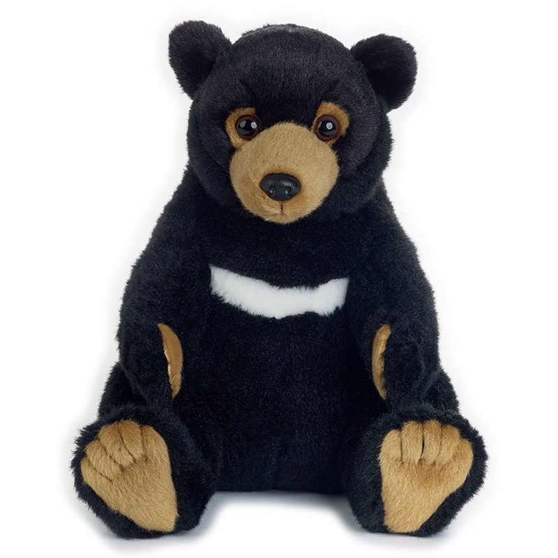 Lelly Peluche Online Store | Peluche Orso Nero Asiatico National Geographic