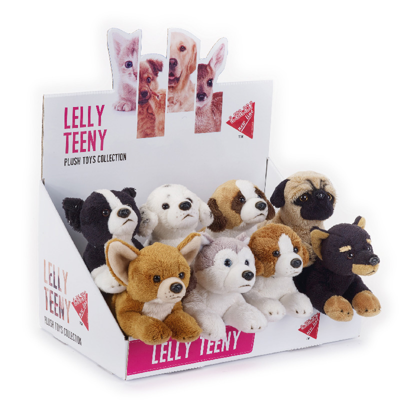 Lelly Peluche Online Store | Peluche lelly Teeny cani stesi