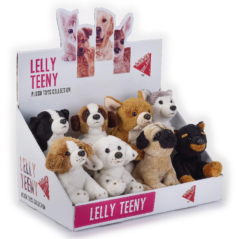 Lelly Peluche Online Store | Peluche lelly Teeny cani seduti
