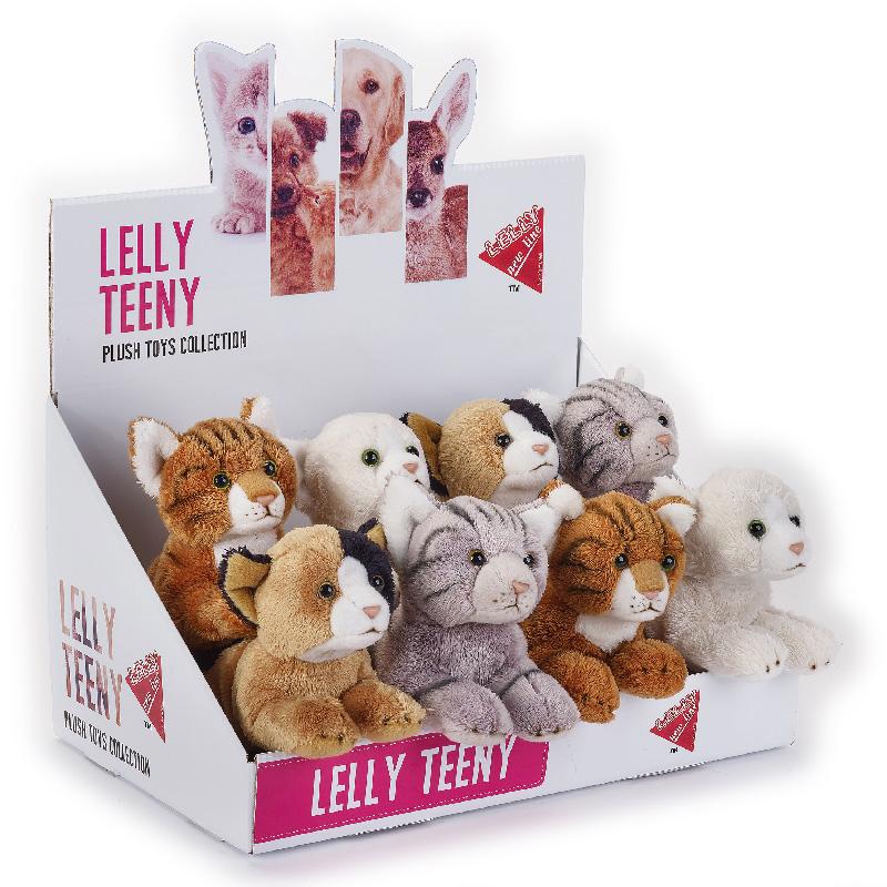 Lelly Peluche Online Store | Peluche lelly Teeny gatti stesi